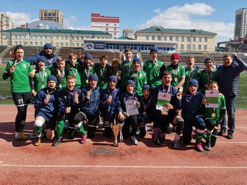 Юные футболисты ФК «Чита» стали победителями межрегионального этапа первенства России по футболу
