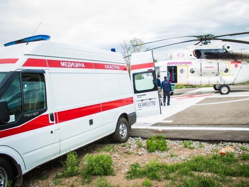 Минфин Забайкалья в рамках нацпроекта профинансировал свыше сотни вылетов санитарной авиации