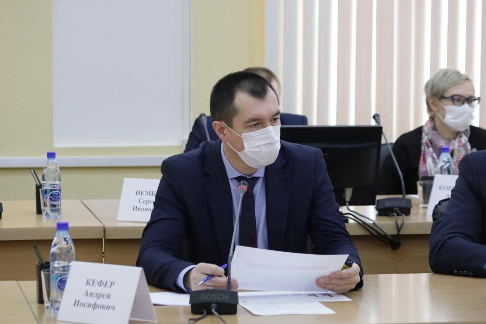 Андрей Кефер доложил о ситуации с реализацией нацпроектов в Забайкалье
