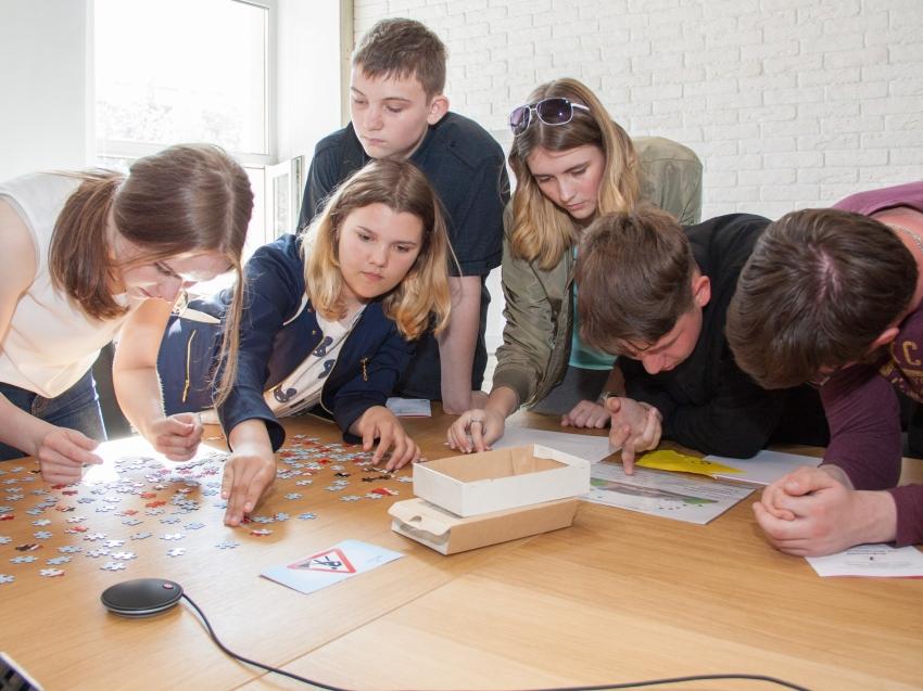 Профориентационное занятие для читинских выпускников провели специалисты центра занятости