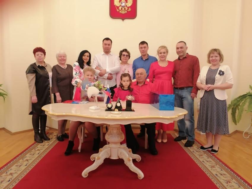 50 лет совместной жизни отметили супруги из Краснокаменска