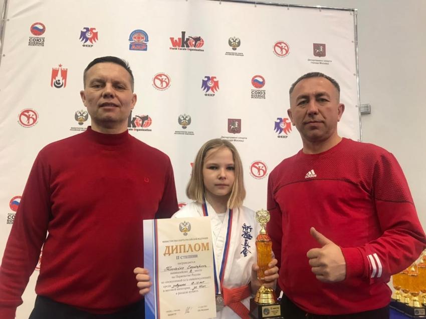 Спортсменка из Забайкалья стала призёром на первенстве России по киокусинкай