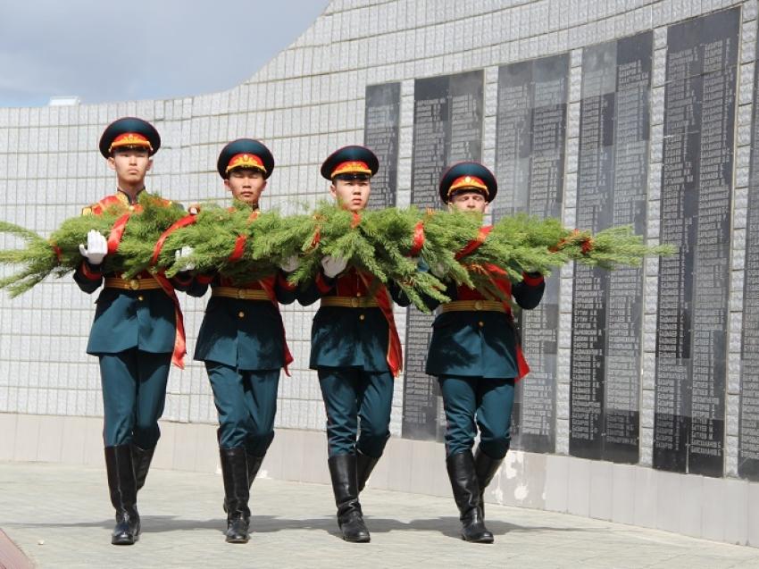 В день Победы в Агинском округе прошли торжественные мероприятия
