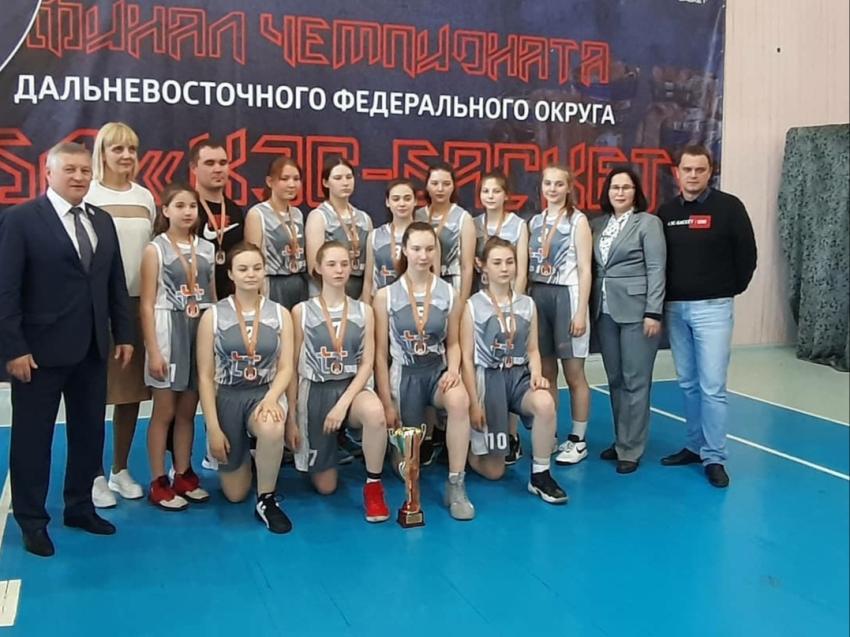 В Чите завершился финал чемпионата Дальневосточного федерального округа школьной баскетбольной лиги «КЭС-Баскет»