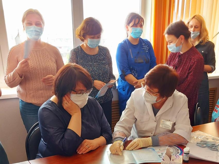 Акция, приуроченная к Всемирному дню борьбы с артериальной гипертензией,  прошла в Чите
