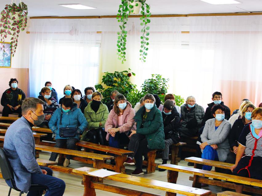 Евгений Казаченко проинспектировал состояние безопасности соцучреждений в Борзинском районе