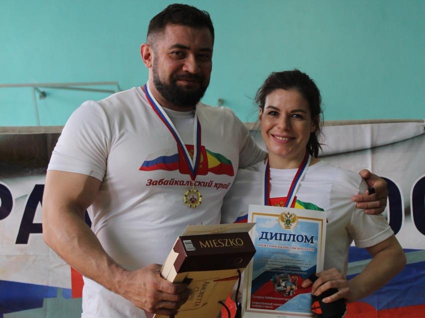 Сотрудники департамента мировых судей одержали победу на соревнованиях в Чите