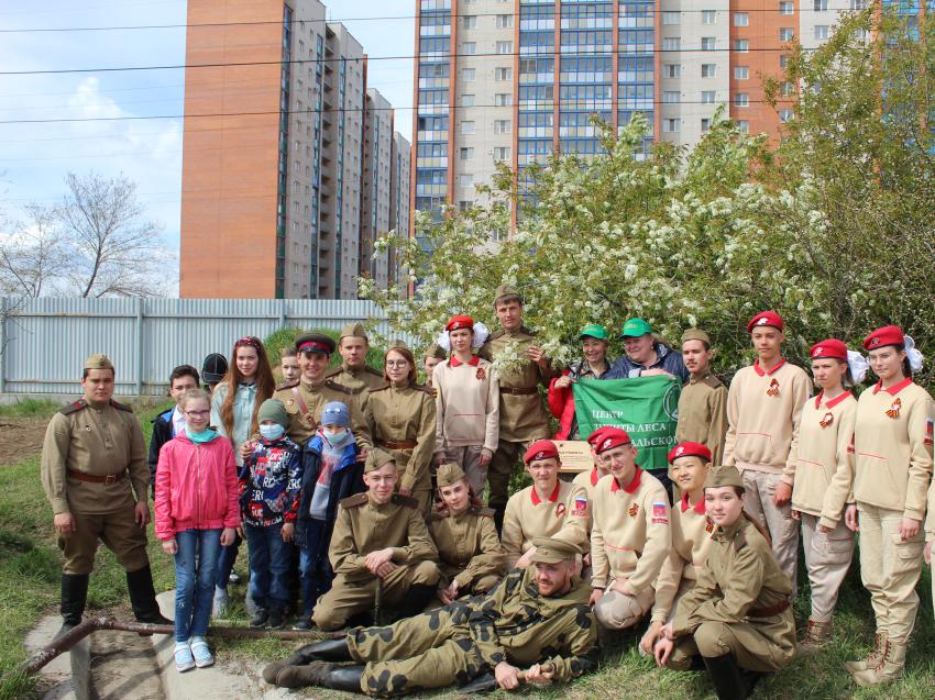 Школьники и студенты Забайкалья в рамках акции «Сад памяти» высадили 60 деревьев