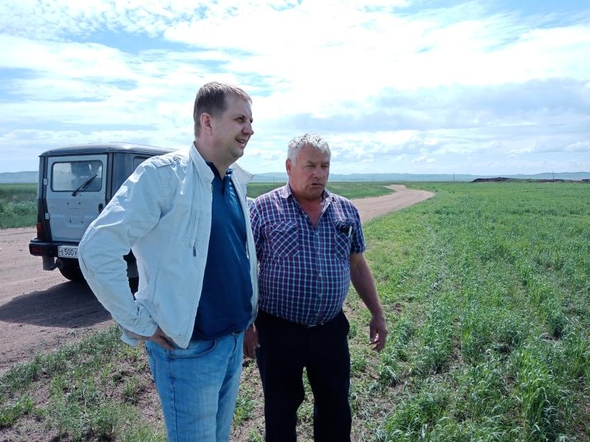Министр сельского хозяйства Забайкалья оценит ход посевных работ на юго-востоке края