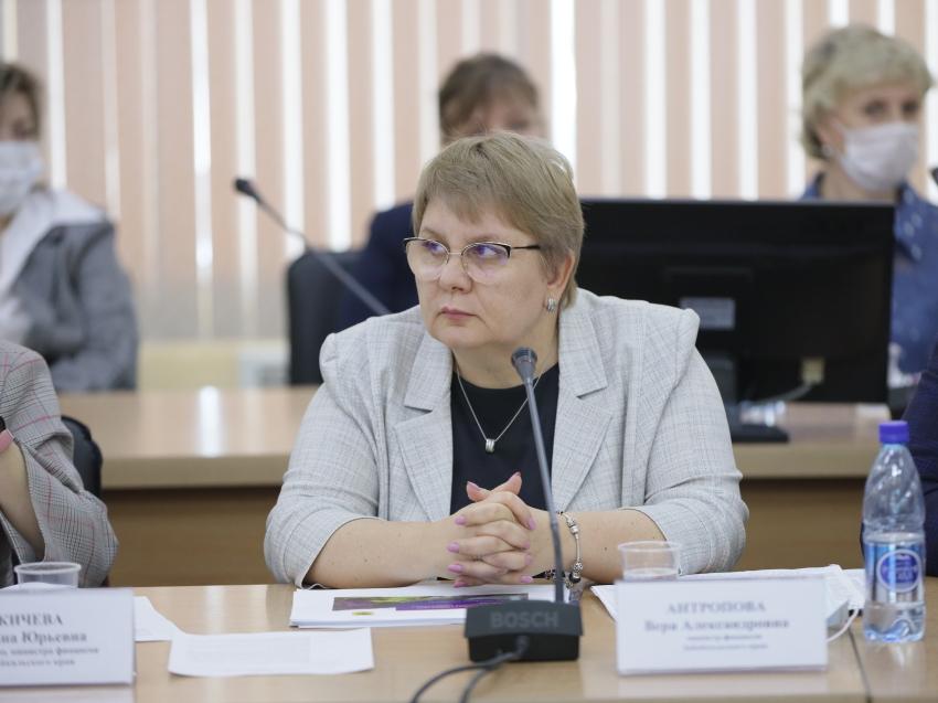 Вера Антропова: Муниципалитетам увеличена финансовая помощь из бюджета в 2020 году