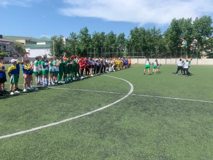 Первые региональные соревнования по лапте в рамках фестиваля «Люди и Солнце» прошли в Чите