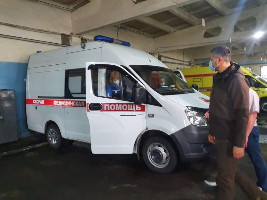 Александр Осипов посетил службу СМП  Забайкалья в профессиональный праздник