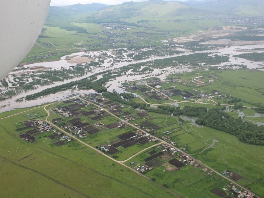 Пострадавшим в результате паводков хозяйствам Забайкалья выплатят компенсацию