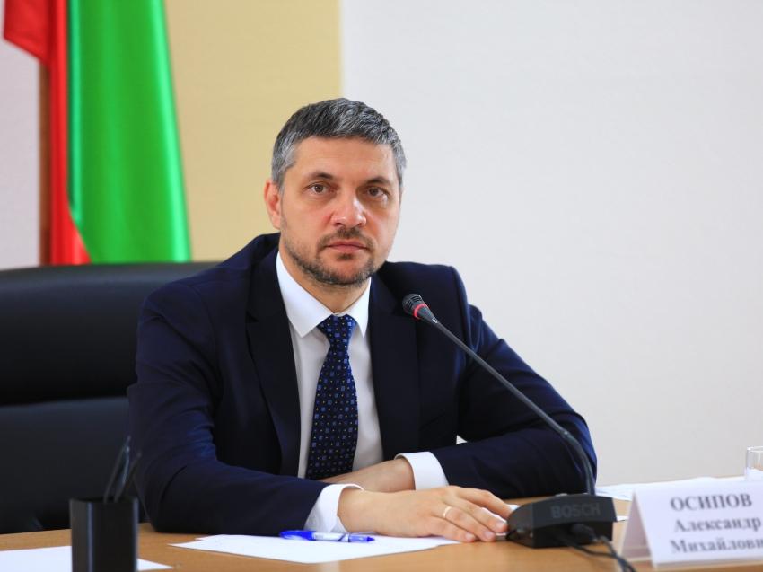 Губернатор Александр Осипов выступит с отчетом перед депутатами Законодательного собрания Забайкалья