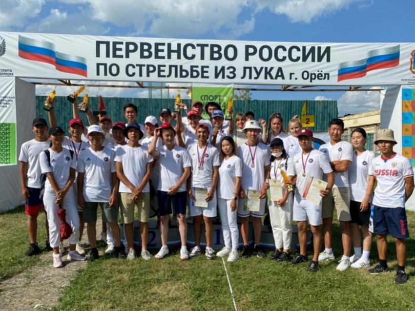 Забайкальские спортсмены завоевали девять медалей на первенстве России по стрельбе из лука в Орле
