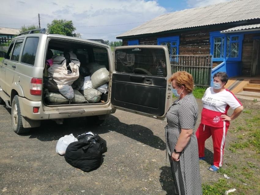 Более четырех тонн гуманитарной помощи собрали для пострадавших от паводка забайкальцев