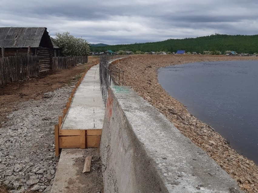 Село Тунгокочен защитят от паводков – Минфин направил на ремонт дамбы 5 миллионов рублей