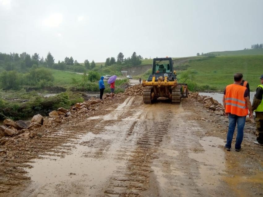 Проезд в Тунгокоченский район Забайкалья восстановлен