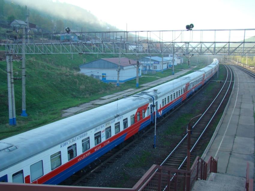 Здоровое Забайкалье: медицинский поезд окажет бесплатную помощь жителям региона