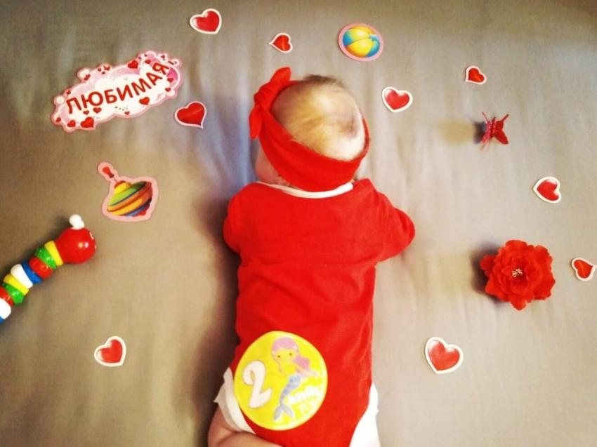 Новорожденную в Красночикойском районе назвали необычным именем Мия