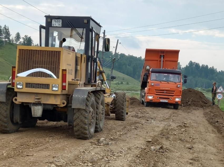 Дорожники Забайкалья приступают к ликвидации размыва между Нерчинском и Сретенском