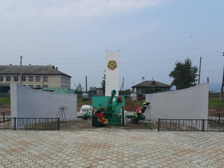 В Могзоне Хилокского района завершили благоустройство центральной площади
