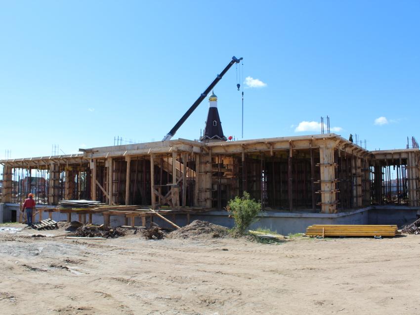 Строители планируют начать возведение стен новой школы в забайкальском селе Смоленка в сентябре