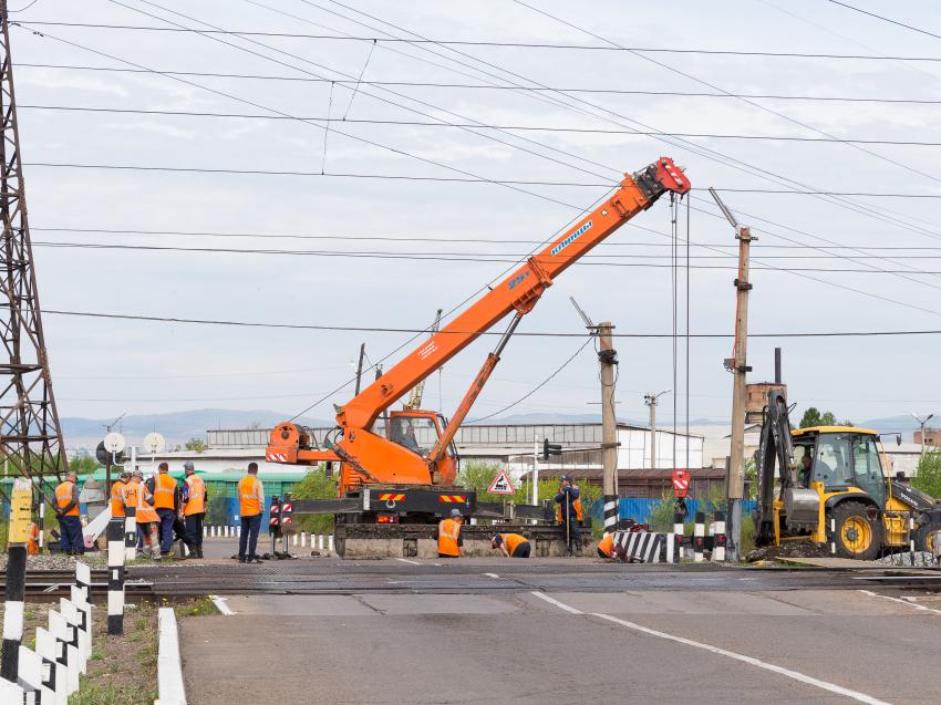 Движение ограничат на железнодорожном переезде на пересечении улиц Лазо – Ярославского в Чите