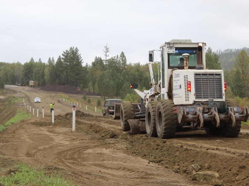 Минстрой Забайкалья контролирует работы на объектах дорожного нацпроекта