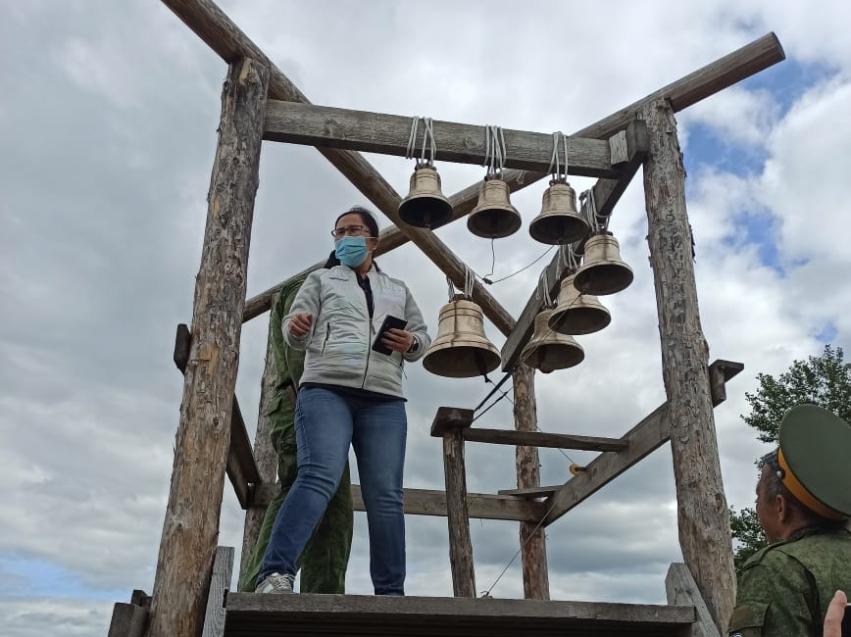 Татьяна Цымпилова посетила соцобъекты Акшинского района