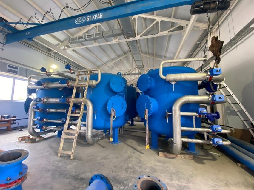Строительство станций водоподготовки в Чите завершат до конца года