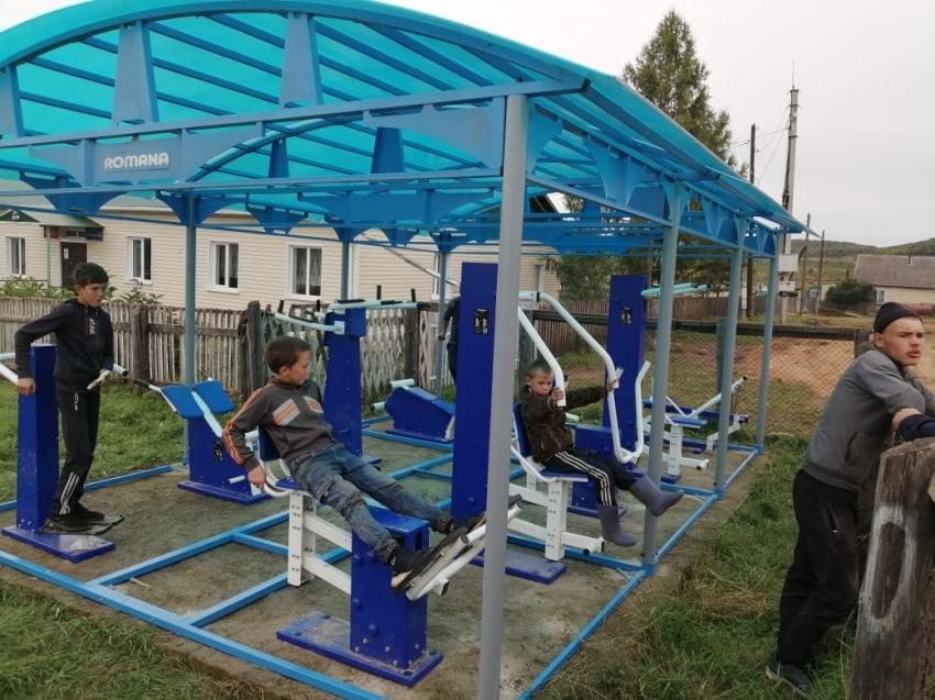 Тренажёрные комплексы установлены в Нерчинско-Заводском районе
