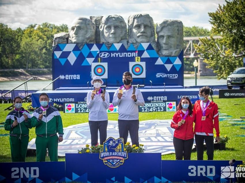 Забайкальский лучник завоевал серебро на чемпионате мира по стрельбе из лука в США