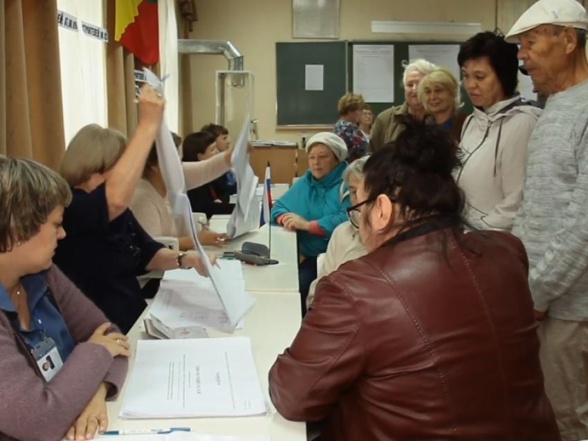 За два часа до конца выборов в Забайкалье явка превысила прошлогодние показатели на 10 процентов