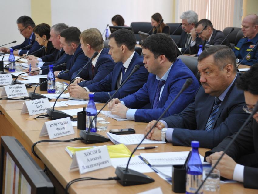 Вопросы подготовки кадров обсудили в правительстве Забайкальского края