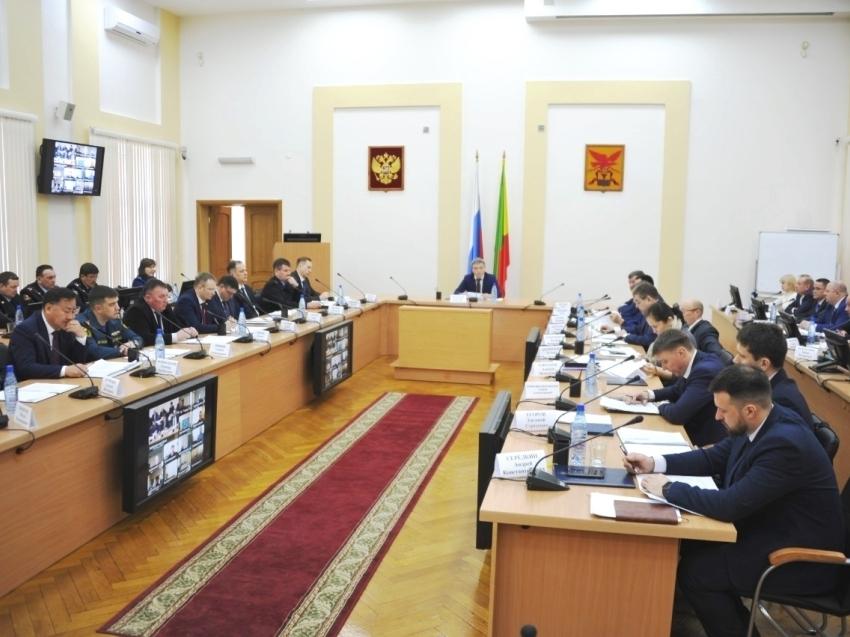 Защищенность социальных объектов стала основной темой заседания антитеррористической комиссии