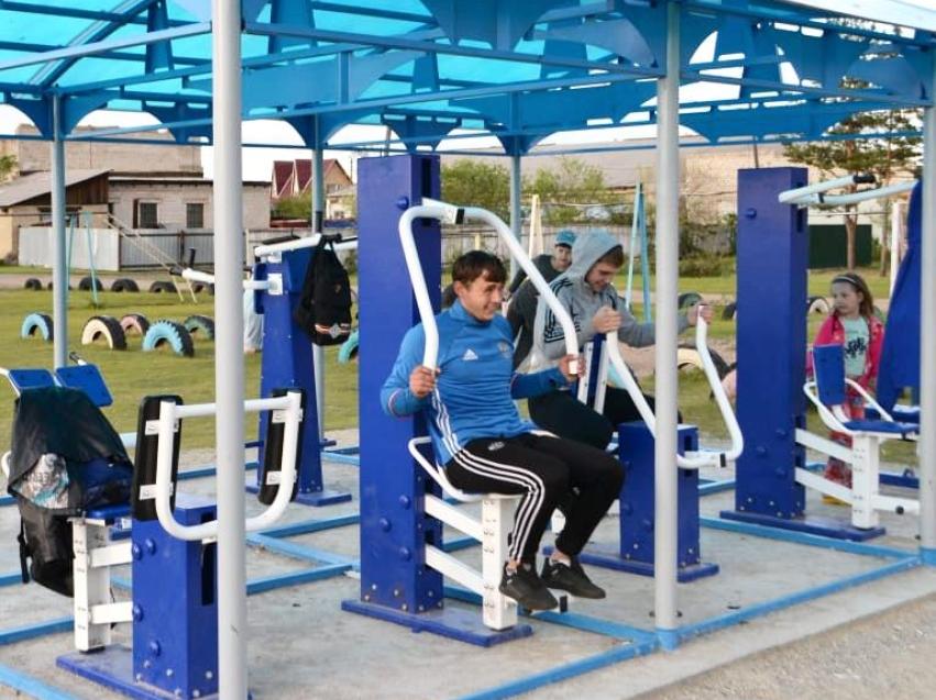 Уличные тренажерные комплексы в Улетовском районе пользуются популярностью