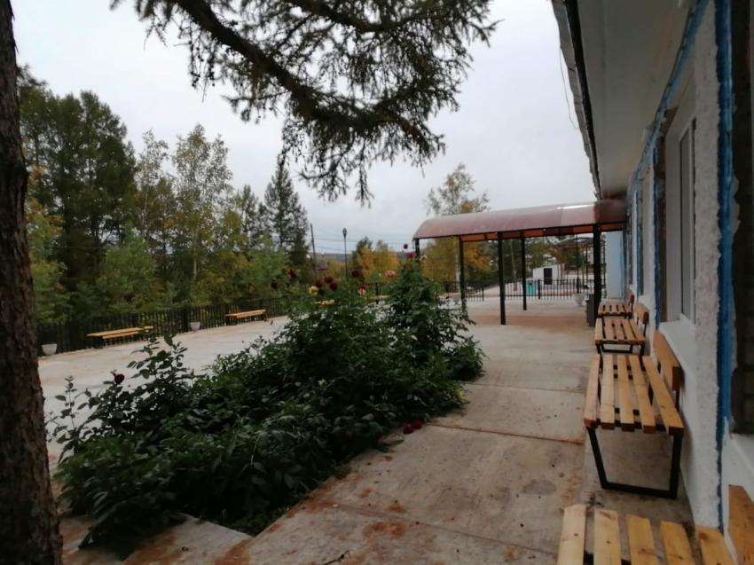 В Газимуро - Заводском районе благоустроили территорию около дома культуры