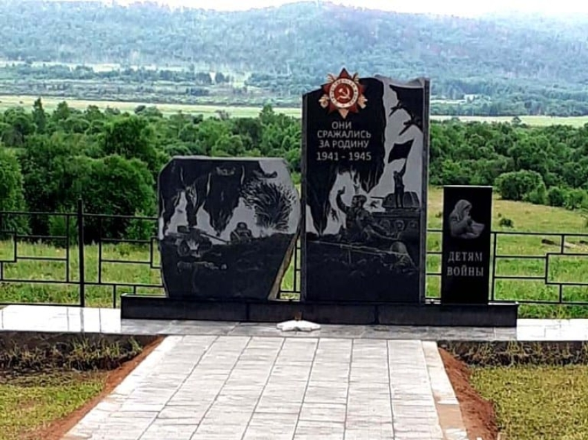 11 июля в с. Бурукан установили памятник