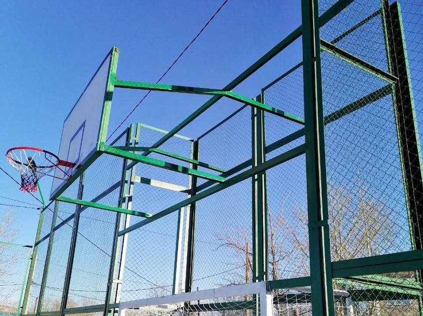 В поселке Билитуй возвели новую спортплощадку
