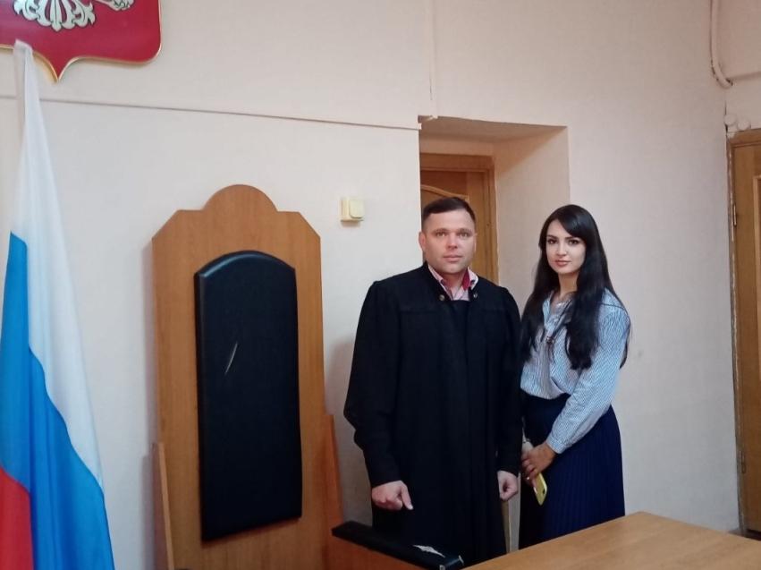 Студенты проходят практику на судебных участках мировых судей Забайкальского края