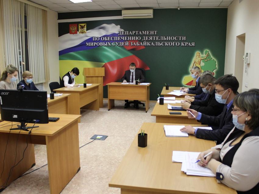 Руководитель департамента провел последнее планерное совещание за декабрь 2020 года