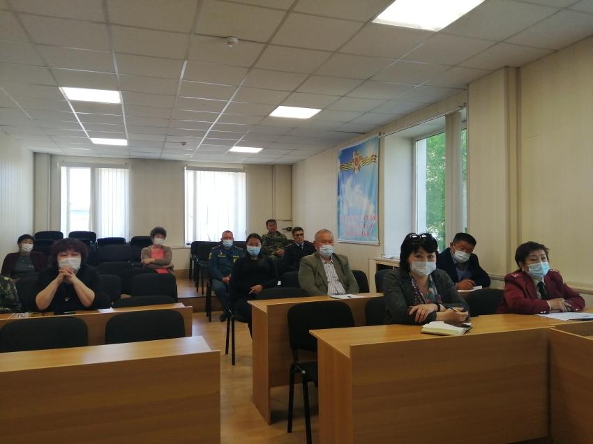 Проведено очередное заседание оперативного штаба по нераспространению коронавирусной инфекции на территории Дульдургинского района
