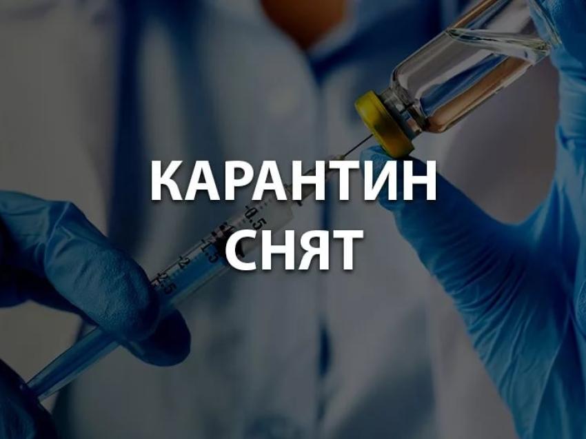 Об отмене ограничительных мероприятий (карантина) в Читинском районе Забайкальского края