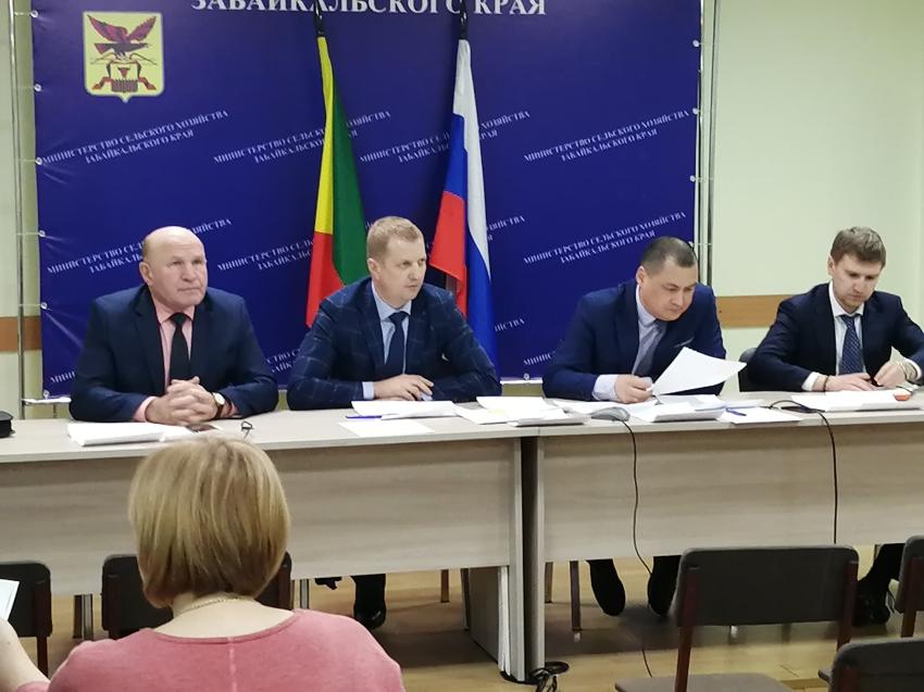 Ликвидация очагов заболевания животных ящуром в Приаргунском районе на 07.02.2020 год.