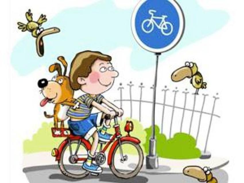 Как уберечь юных велосипедистов на  дороге.