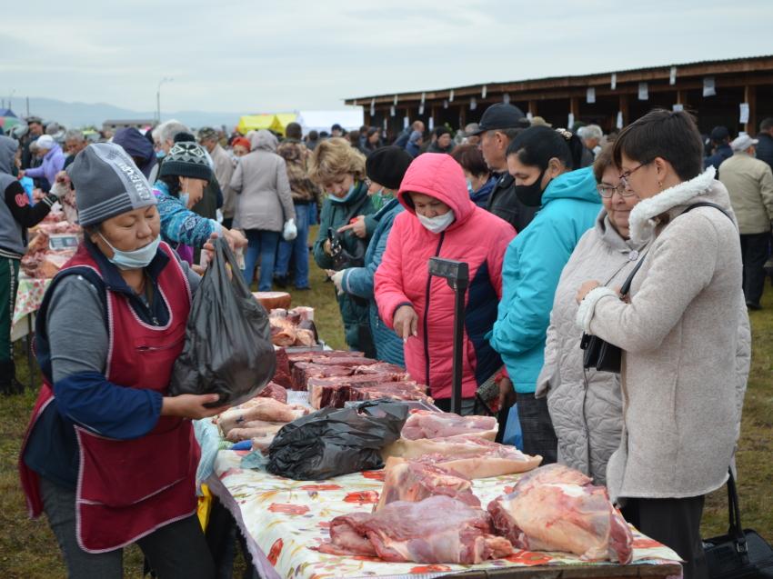 Свыше 25 тонн мяса и 53 тонны картофеля реализовали на ярмарке «Золотая осень Забайкалья»