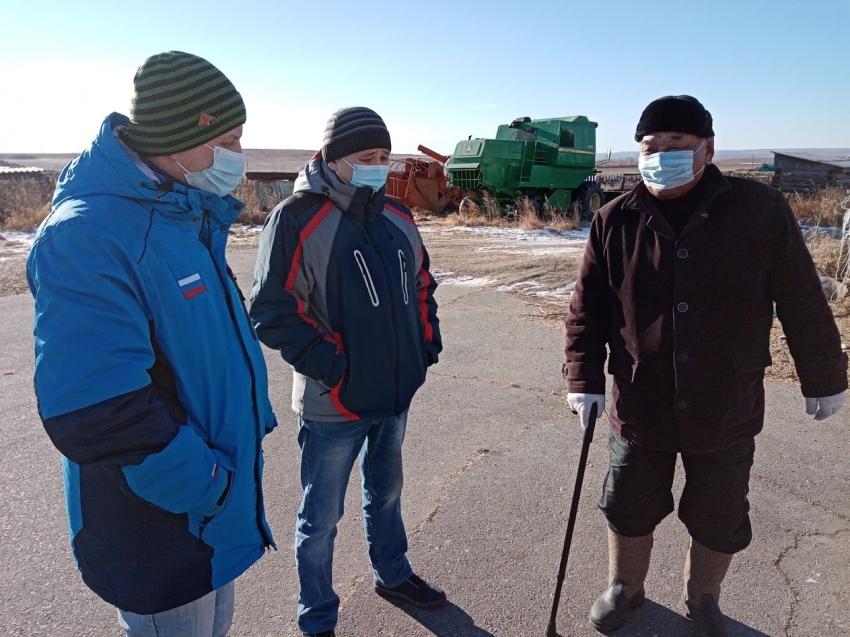 Фермер из Агинского района планирует экспортировать зерно в Китай