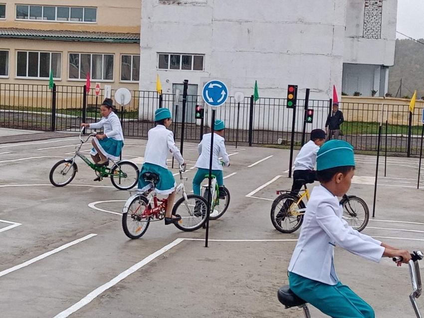 Площадка для предупреждения детского травматизма на дорогах открылась в Могойтуйском районе