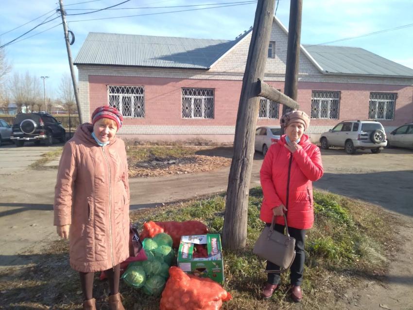 Все пострадавшие от паводка семьи в Шилкинском районе получили овощные наборы